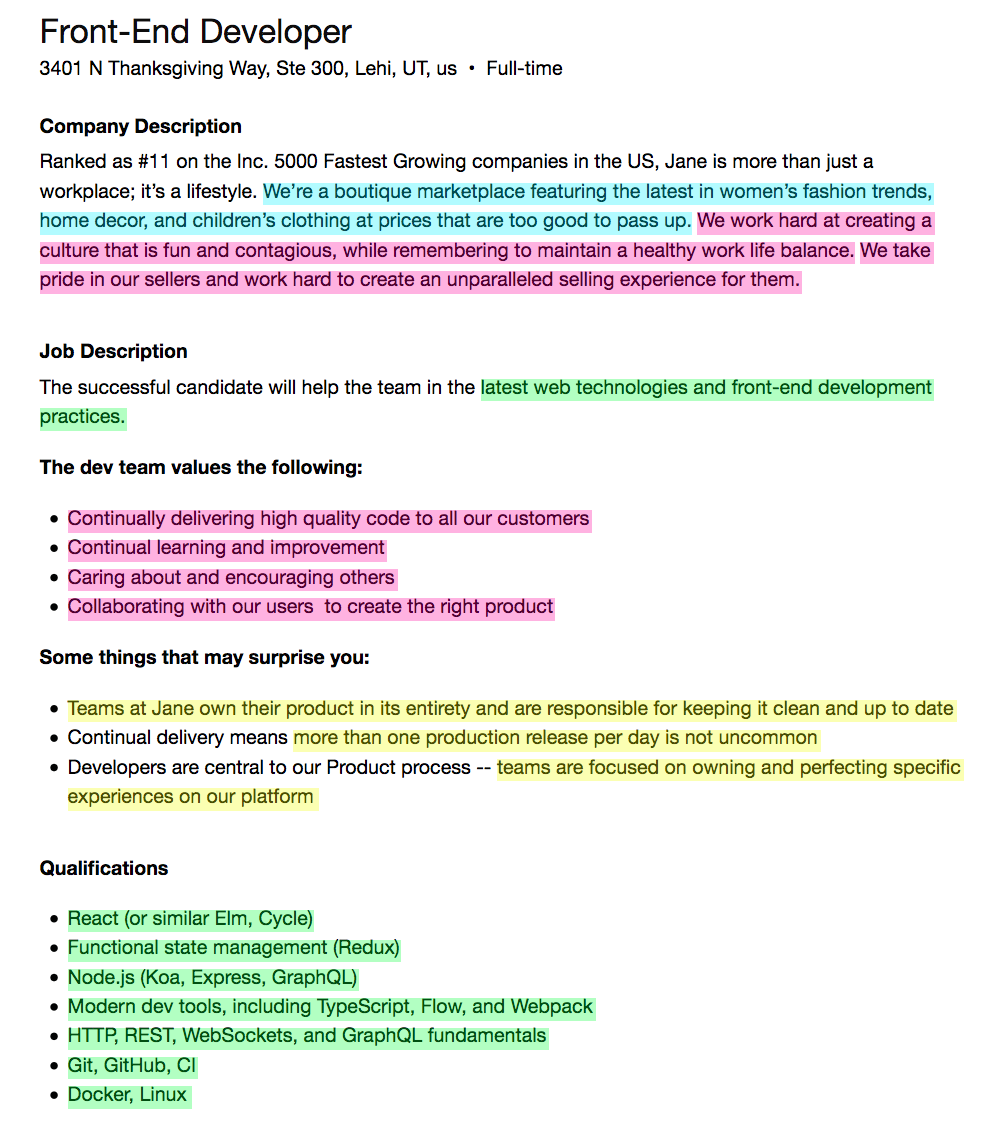 What should I write in my cover letter? (Or that Email to a ...