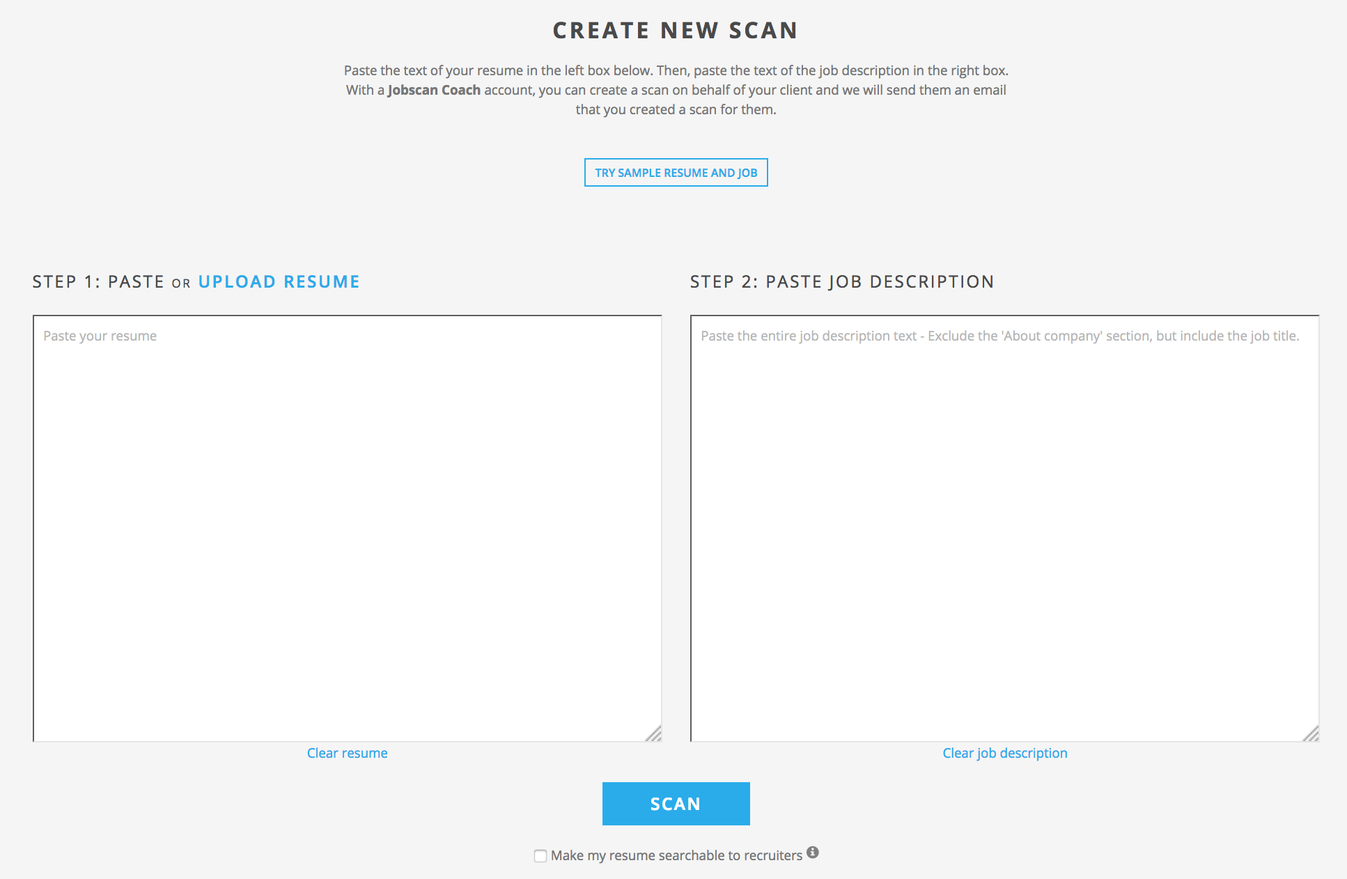 jobscan co free tool for getting your resume past applicant