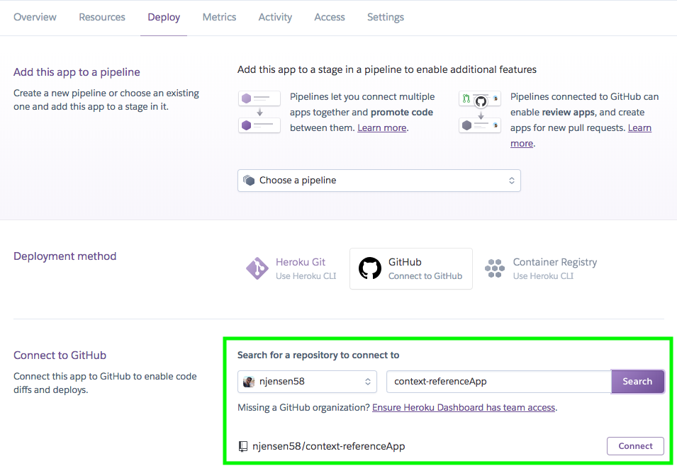 Deploying your MERN project with Heroku (using your Master